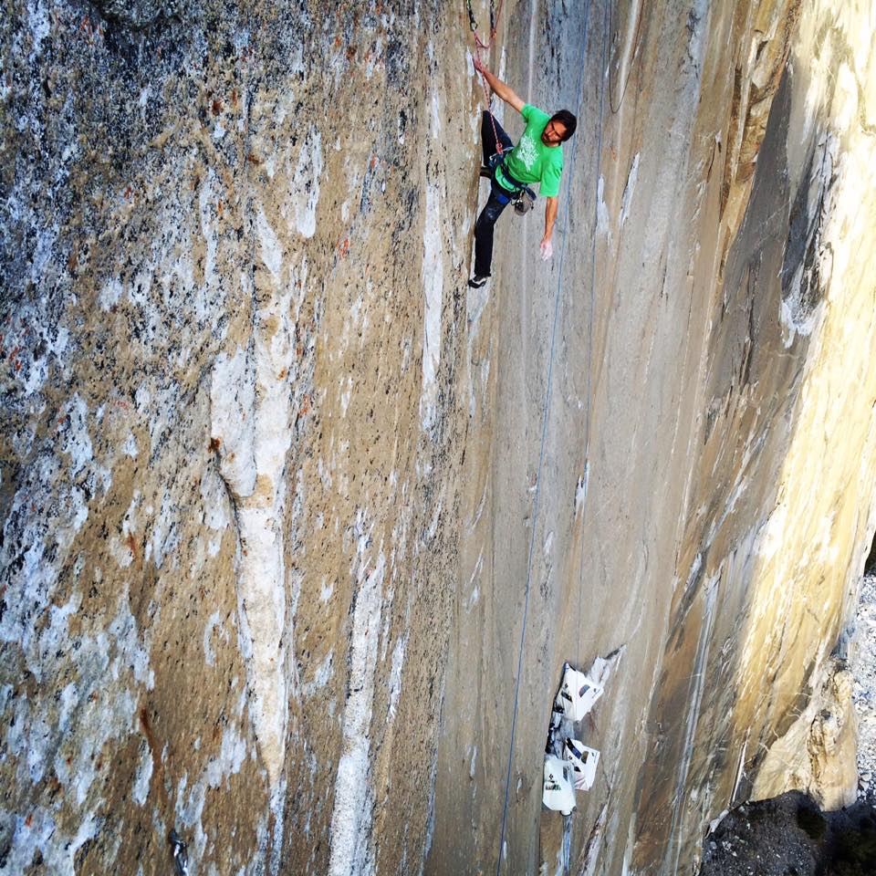 Pitch 15 Dawn Wall
